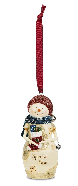 4-Inch Pavilion Gift Company 81118 The Birchhearts Son Snowman Figurine