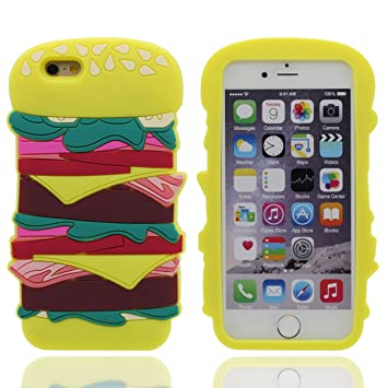 coque iphone 6 hamburger