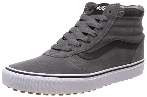 1f6e38cab0078c Vans Men s Ward MTE Hi-Top Trainers Nero  Amazon.co.uk  Shoes   Bags
