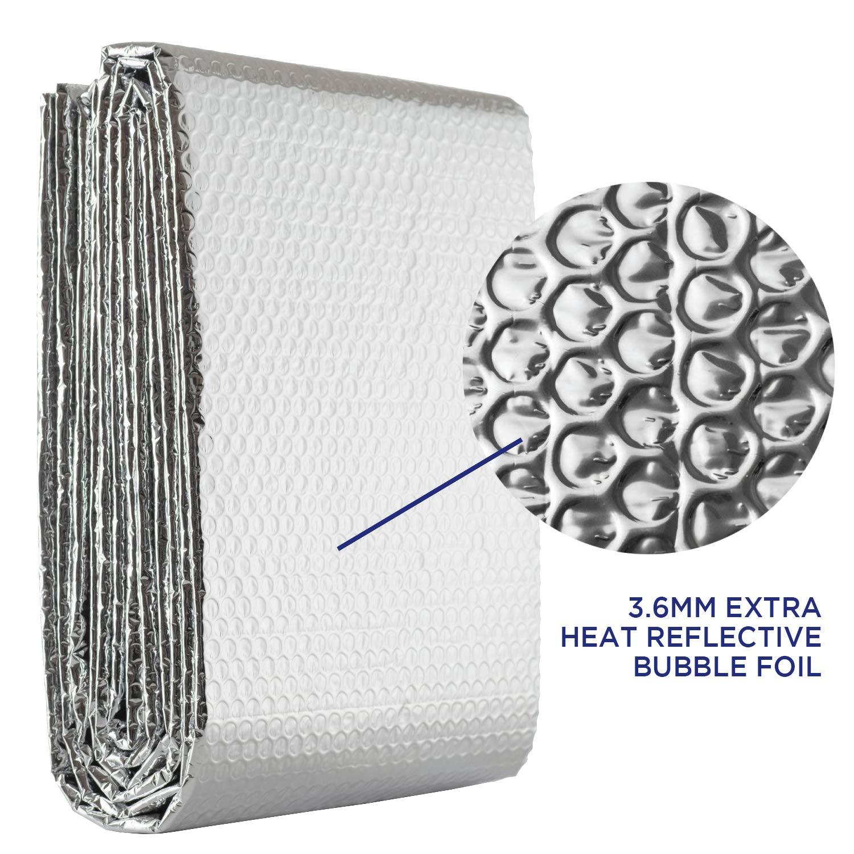 Radpack R/éflecteur de chaleur pour radiateur Feuille disolation pour /économie d/énergie 5 m x 60 cm Foil Tech