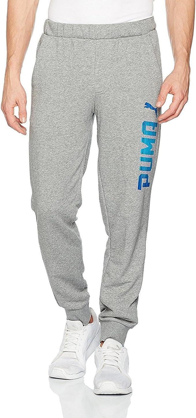 PUMA Herren Rebel Sweat Pants, TR, cl. Hose, Medium Gray
