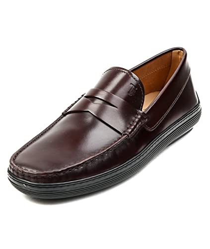 Tod's Men's Glossy Leather Penny Loafers