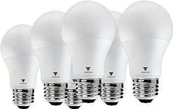 6-Pks. Triangle A19 LED 60-Watt Light Bulb