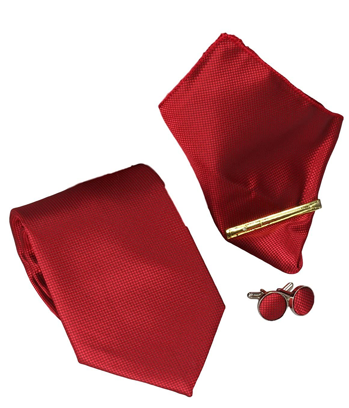 Alfiler de corbata Gemelos Corbatas Set 4 8,5cm Corbata Pa/ñuelo