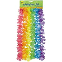 Floral Value Pack Leis - Rainbow