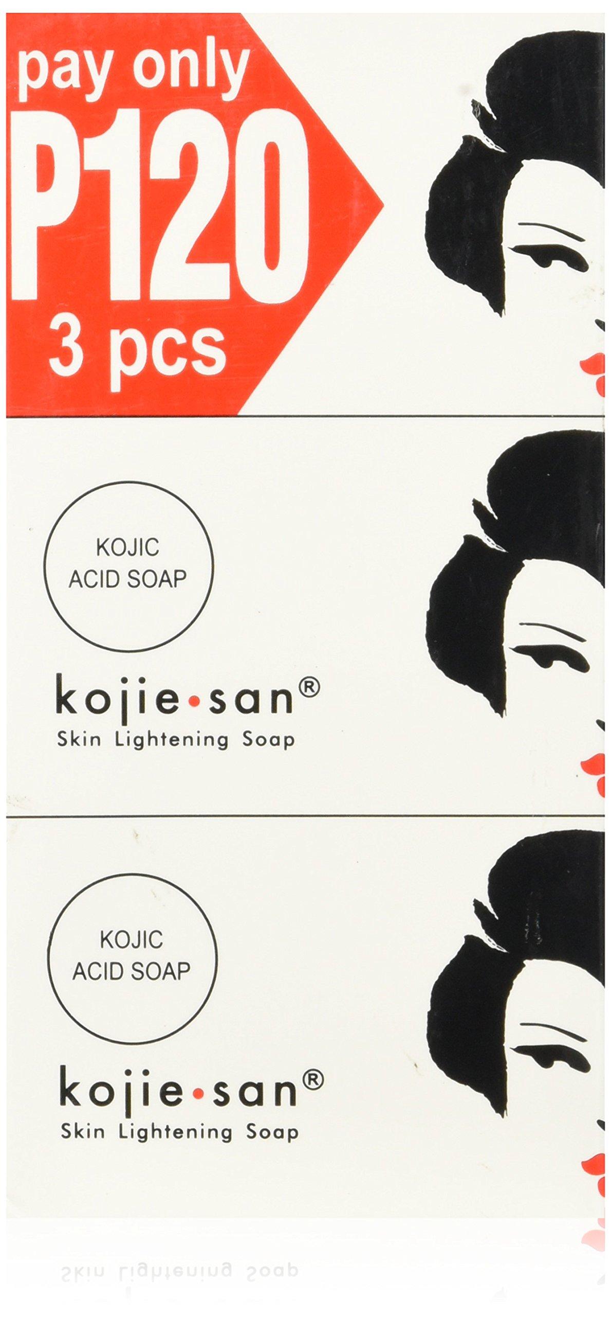 Kojie San Triple Pack Skin Lightening Soaps (3 x 100g)