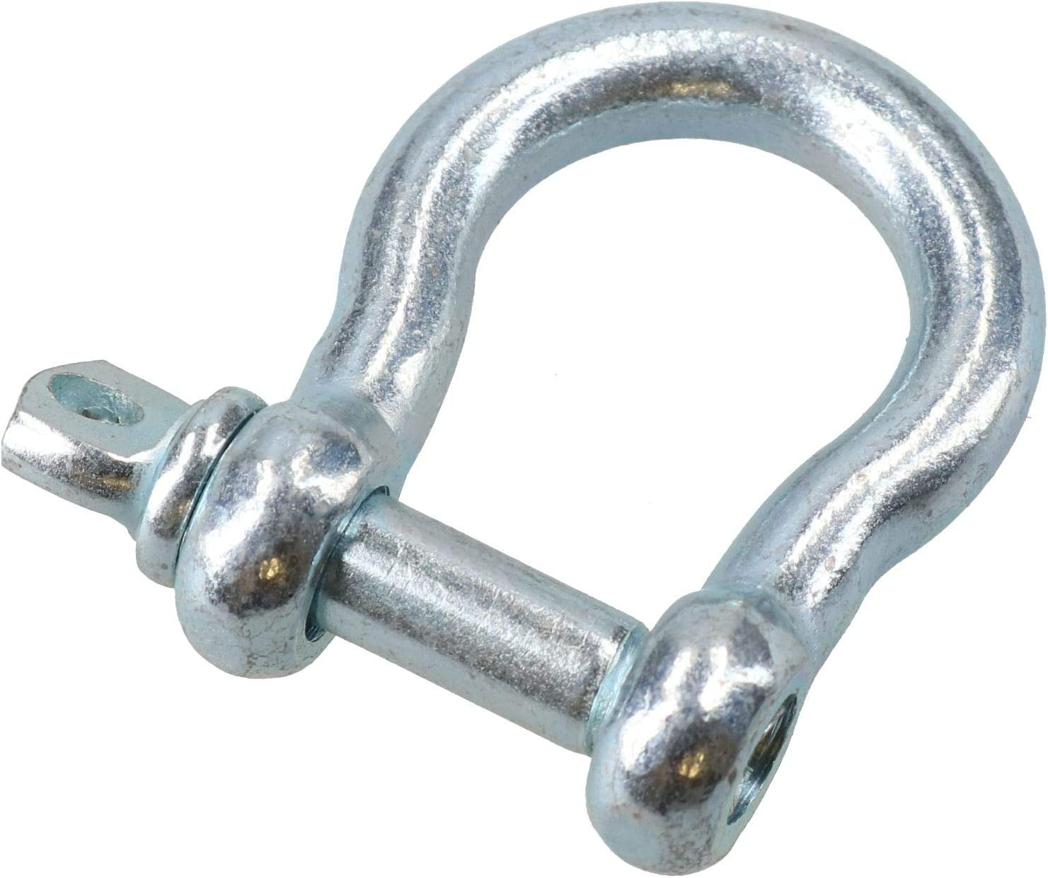 1//2 Stainless Steel Dee Shackle Load Rated SWL 2 Ton Marine Grade 316 DK39