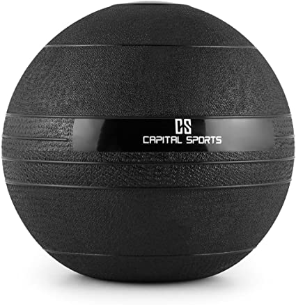 CAPITAL SPORTS Groundcracker Pelota de peso 10kg (Balón medicinal ...