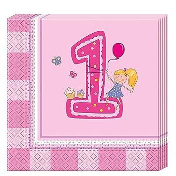PROCOS 85712 - Servilletas de Papel para Primer cumpleaños ...