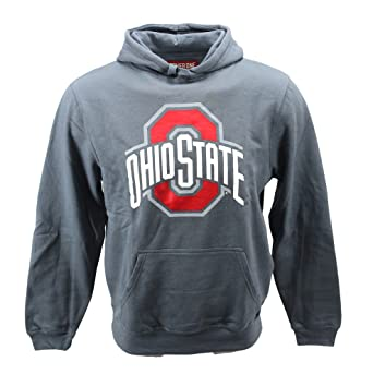 4251f2fd59d Amazon.com  J. America Men s NCAA Ohio State Buckeyes Hoodie Sweatshirt  Slate - Medium  Clothing