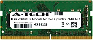 A-Tech 4GB Module for Dell OptiPlex 7440 AIO All-in-One Compatible DDR4 2666Mhz Memory Ram (ATMS283836A25977X1)