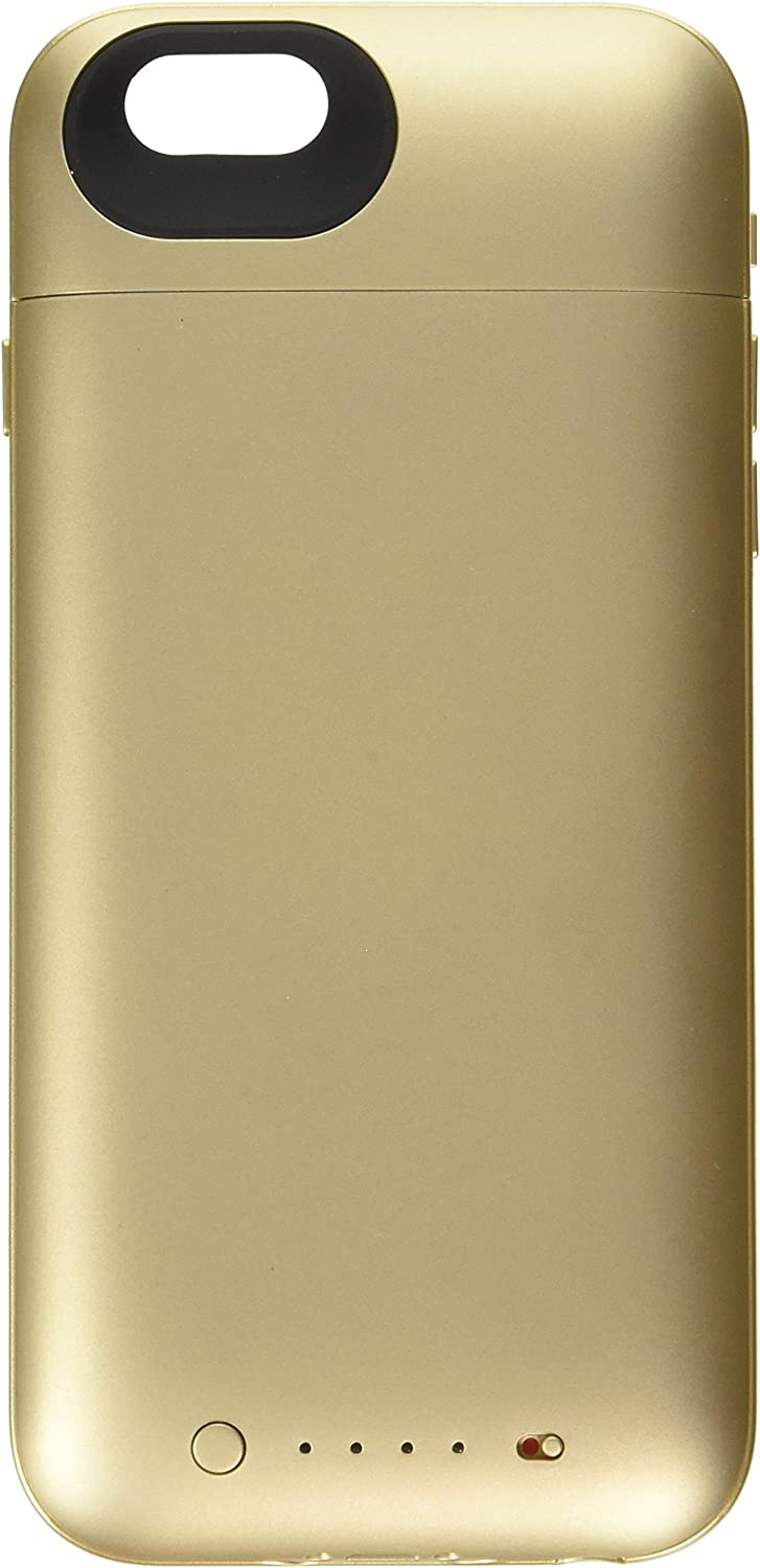 mophie juice pack plus - Protective Mobile Battery Pack Case for iPhone 6/6s ONLY- Gold