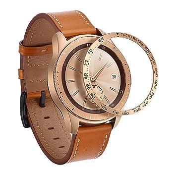 SPGUARD Compatible con Samsung Galaxy Watch, Carcasa de ...