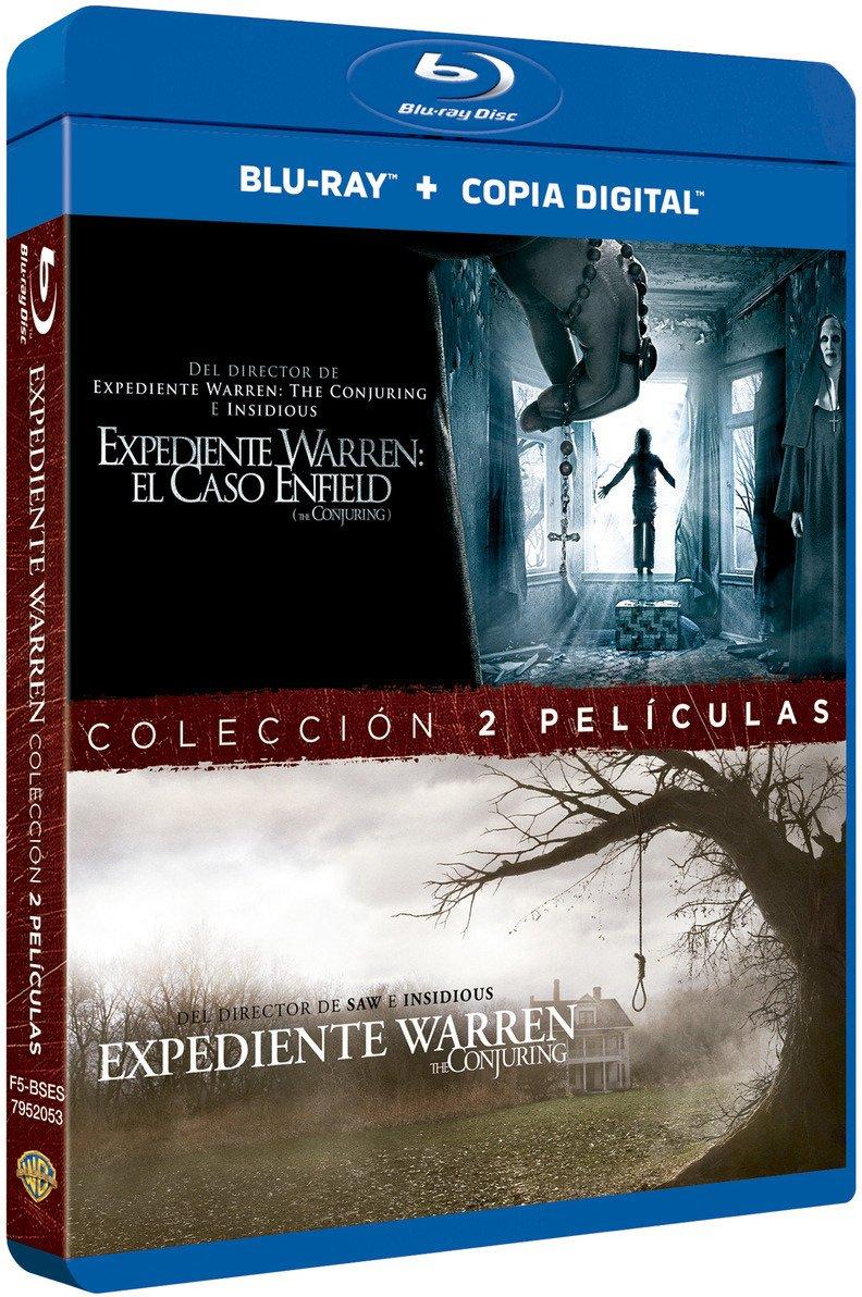 Pack Expediente Warren 1+2 Blu-Ray [Blu-ray]: Amazon.es: Vera Farmiga, Patrick Wilson, Madison Wolfe, Patrick Mcauley, James Wan, Vera Farmiga, Patrick Wilson: Cine y Series TV