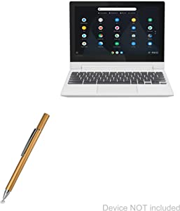 "Lenovo C330 Convertible 2-in-1 Chromebook (11.6"") Stylus Pen, BoxWave [FineTouch Capacitive Stylus] Super Precise Stylus Pen for Lenovo C330 Convertible 2-in-1 Chromebook (11.6"") - Champagne Gold"