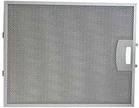 Filtro metálico 310 x 250 mm campana extractora 00353110 SIEMENS: Amazon.es: Grandes electrodomésticos