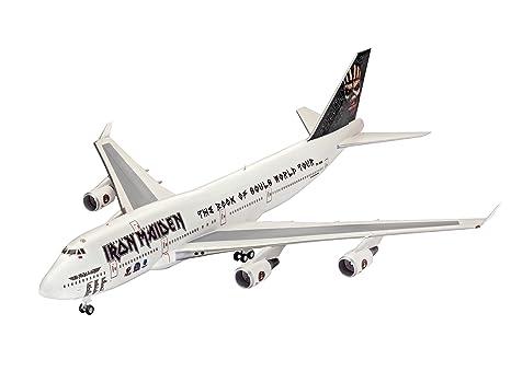 Revell Maqueta de avión 1: 144 - Boeing 747 - 400 Iron ...