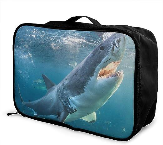 Travel Luggage Duffle Bag Lightweight Portable Handbag Pink Umbrella Large Capacity Waterproof Foldable Storage Tote