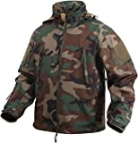 Rothco Special Ops Soft Shell Jacket, Woodland, Medium
