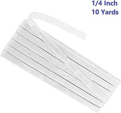 Amazon Com Soft Knit Flat Elastic Braid Band For Face Masks