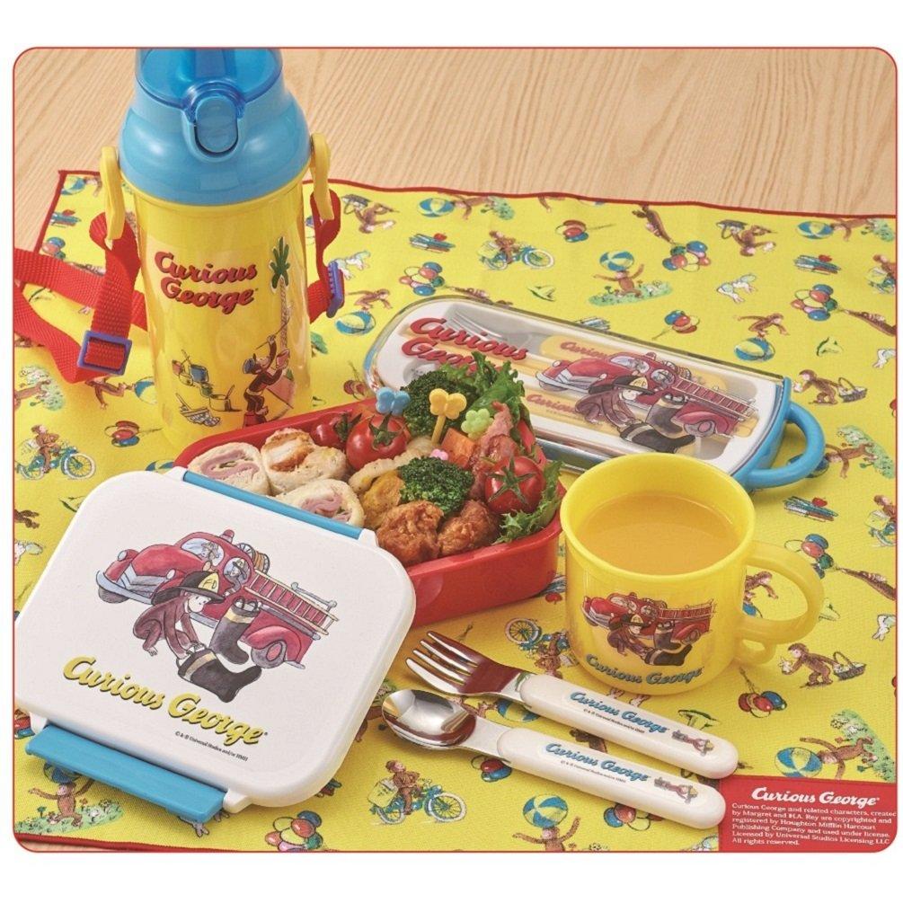 1440f8f3828c Amazon.com: Gakken Suteifuru Curious George lunch box lunch box fire ...