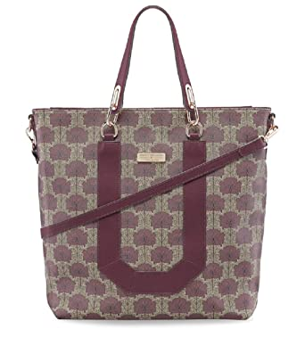 62fb11de29c9ad Tamaris FIORELLA Shopping Bag 2923182-544 Umhängetasche Handtasche in  Bordeaux Comb.  Amazon.de  Bekleidung