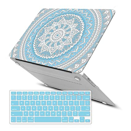 sale retailer 4803e 7e761 MacBook Air 13 Inch Case (Release 2010-2017 Older Version),iCasso Rubber  Coated Soft Touch Hard Case with Keyboard Cover Only Compatible MacBook Air  ...