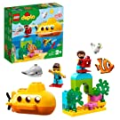LEGO 10910 DUPLO Town Submarine Adventure Bath Toy, Air Bubbles, Set for 2 Year Old