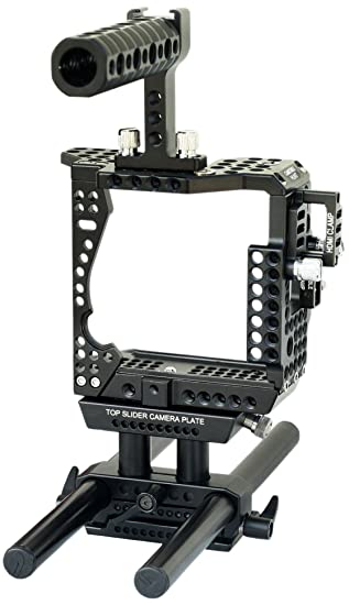 CAMTREE Hunt - Jaula Profesional para cámara Sony A7 II, A7R II y ...