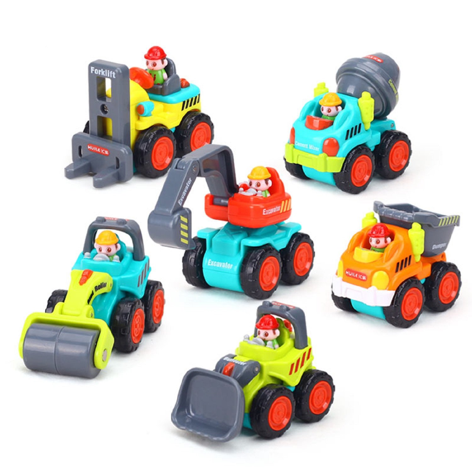 Amazon Sliding Toy Cars Pocket Construction Vehicles Trucks