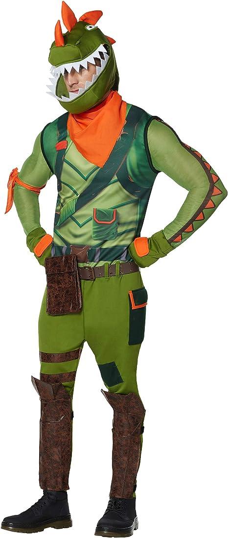 Spirit Halloween Adult Rex Fortnite Costume | Officially Licensed