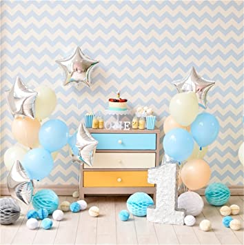 Chevron Baby Boy 1st Birthday Cake Smash Prop Outfit Handmade