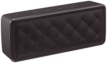 speakers in amazon. amazonbasics portable bluetooth speakers (black) in amazon e