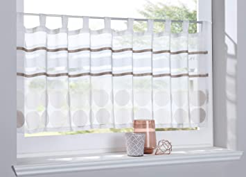 Shangrila Scheibengardine Agri Sichtschutz Dekoration Transparent