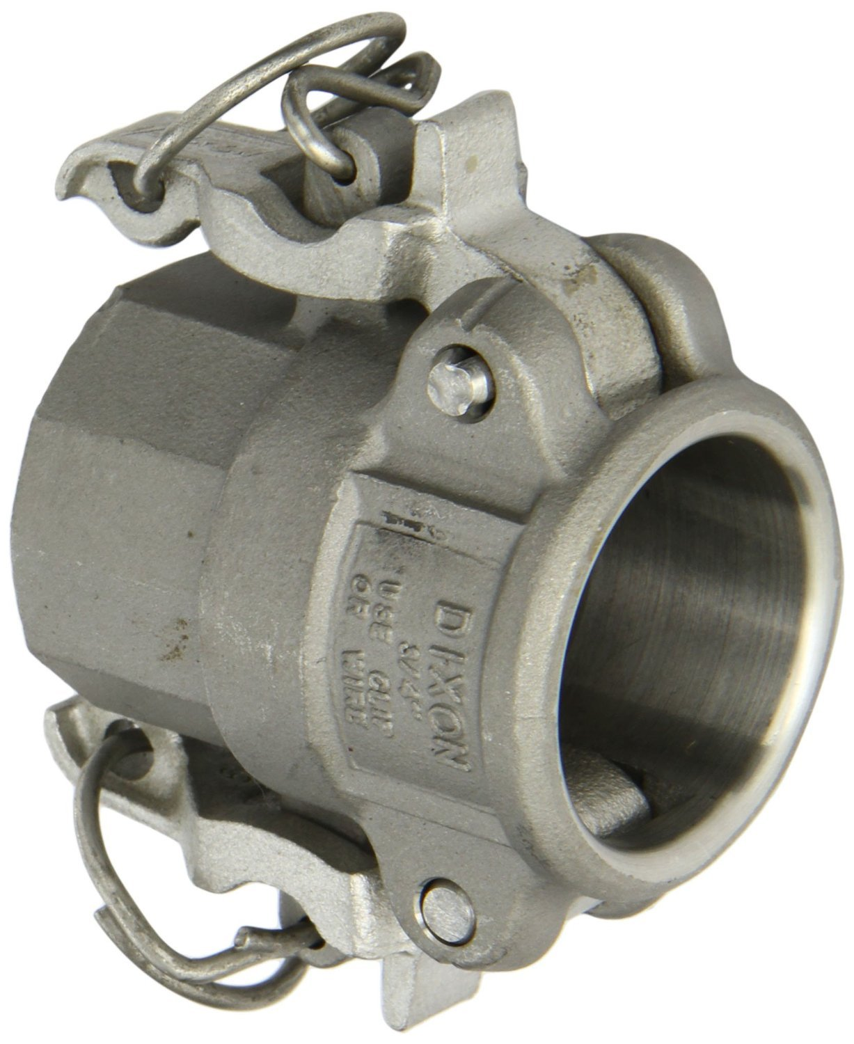 Dixon RD075BL Stainless Steel 316 Boss-Lock Type D Cam and Groove Hose Fitting, 3/4'' Socket x 3/4'' NPT Female