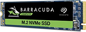 Seagate Barracuda 510 1TB SSD Internal Solid State Drive – PCIe Nvme 3D TLC NAND for Gaming PC Gaming Laptop Desktop (ZP1000CM30001)