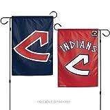 Stockdale Cleveland Indians RETRO WC GARDEN FLAG