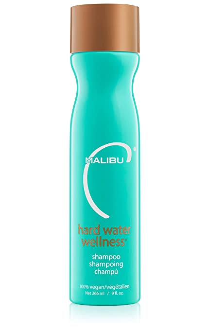 2. Malibu C Hard Water Wellness Shampoo - Best Chelating Shampoo for Dull Hair