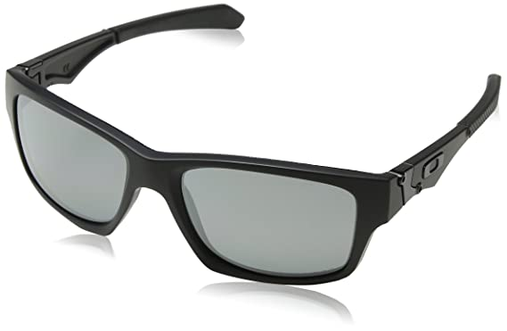 d87e6f5464 Amazon.com  Oakley Mens Sunglasses Black Matte Black - Non-Polarized -  56mm  Clothing