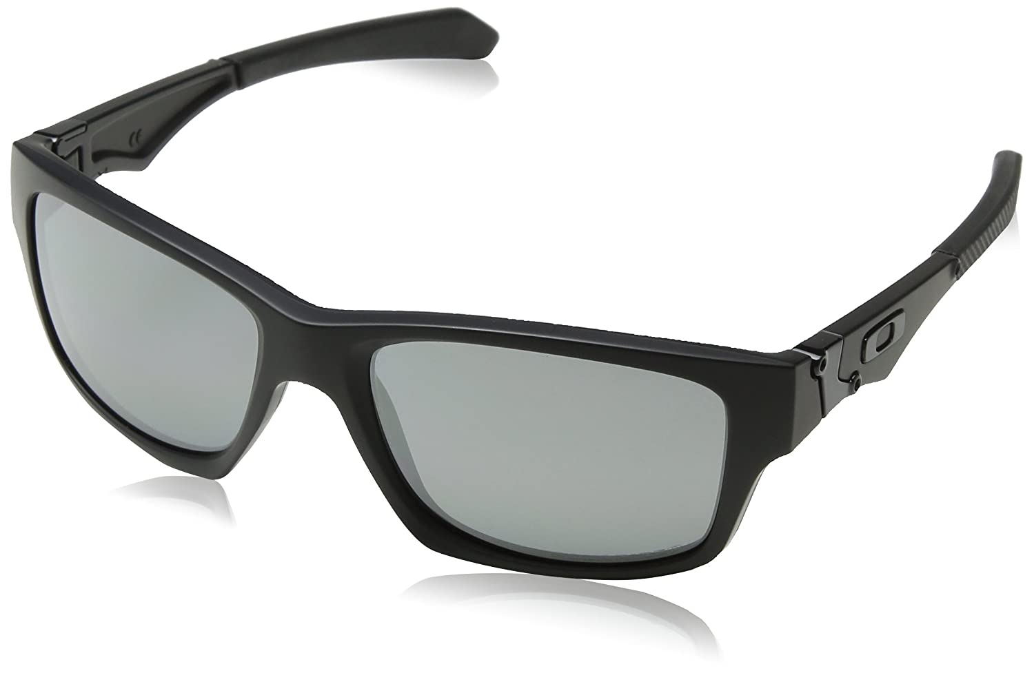 fb5a592bc9 Amazon.com  Oakley Jupiter Squared Men s Polarized Lifestyle Sports  Sunglasses Eyewear - Matte Black Black Iridium One Size Fits All  Oakley   Clothing