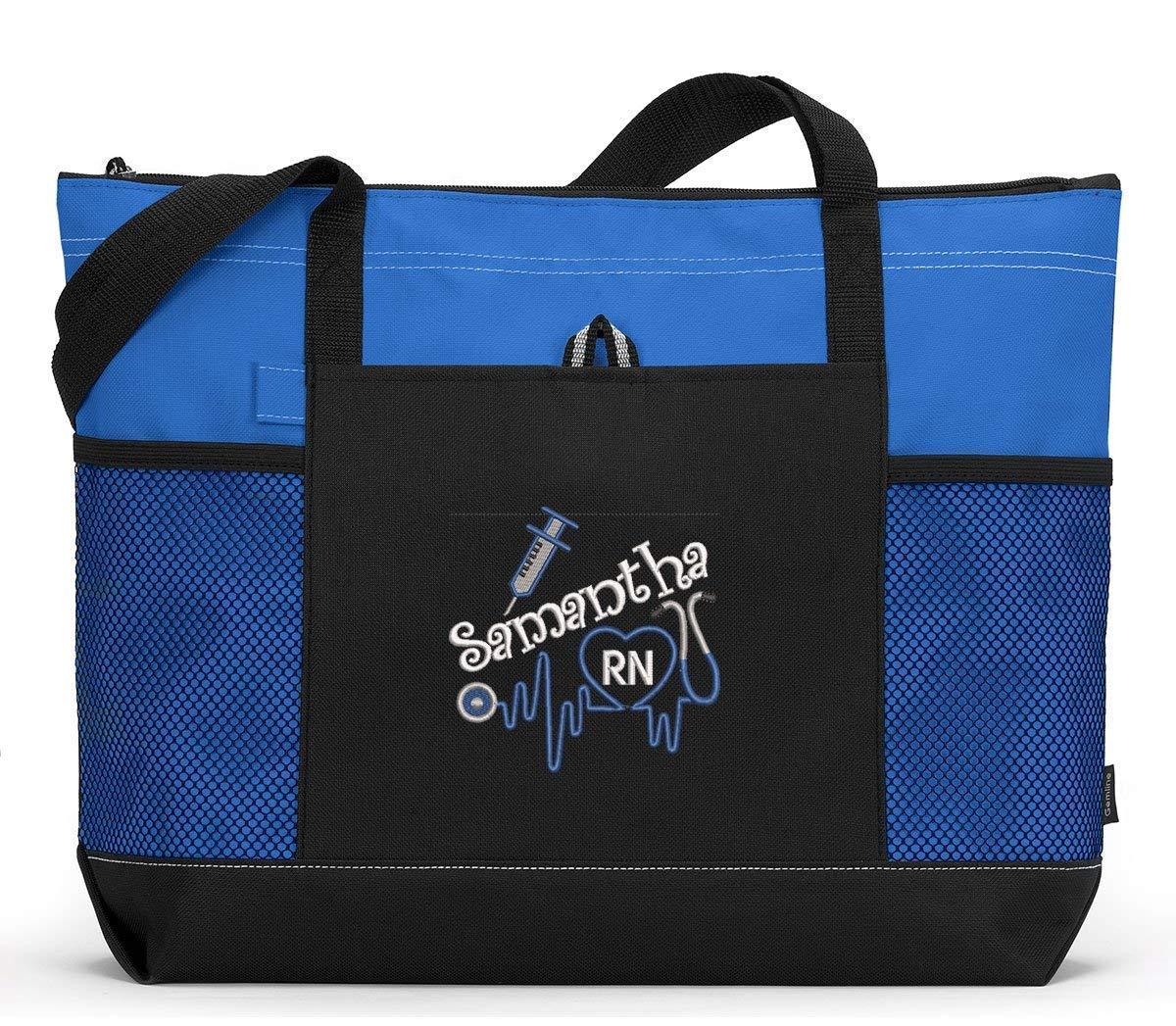 Personalized Nurse Messenger Bag