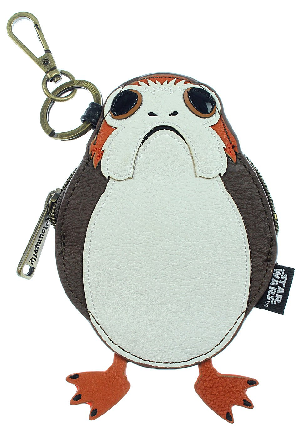f207e8fe539 Loungefly Star Wars The Last Jedi Porg Character Clutch Coin Bag