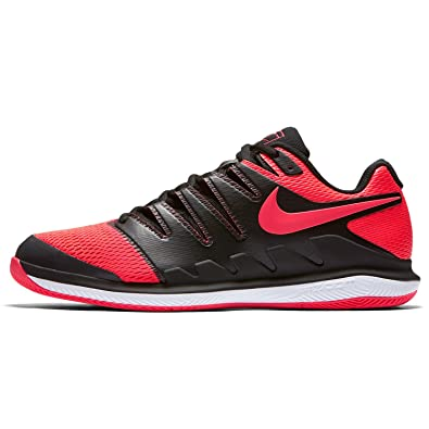 Nike Zoom Vapor X Clay Tennis Shoes Black Red Spring 2018 - 44