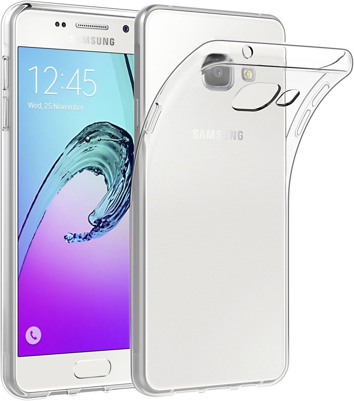 Coque de Protection pour Samsung Galaxy A5 2016, EasyAcc Etui Transparent Compatible avec Samsung Galaxy A5 2016 Smartphone Étui Housse Invisible en ...