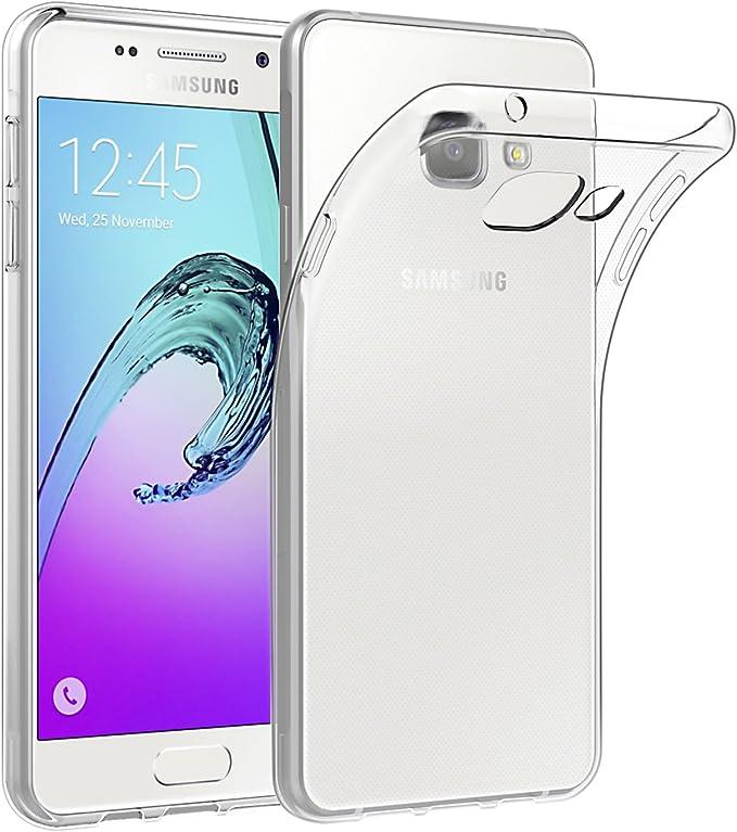 EasyAcc Funda para Samsung Galaxy A5 2016 Ultra Delgado TPU Transparente Carcasa Protección y Resistente: Amazon.es: Electrónica