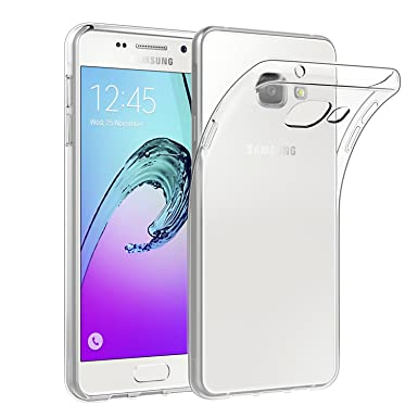 new concept 71654 b8959 Case for Samsung Galaxy A5 2016, EasyAcc Soft TPU Crystal Clear Slim Anti  Slip Case Transparent Back Protector Cover Compatible with Samsung Galaxy  A5 ...