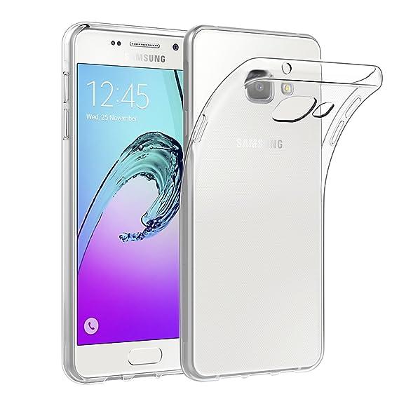EasyAcc Hülle Case für Samsung Galaxy A5 2016, Dünn Crystal Clear Transparent Weich Handyhülle Cover Soft Premium-TPU Durchsi