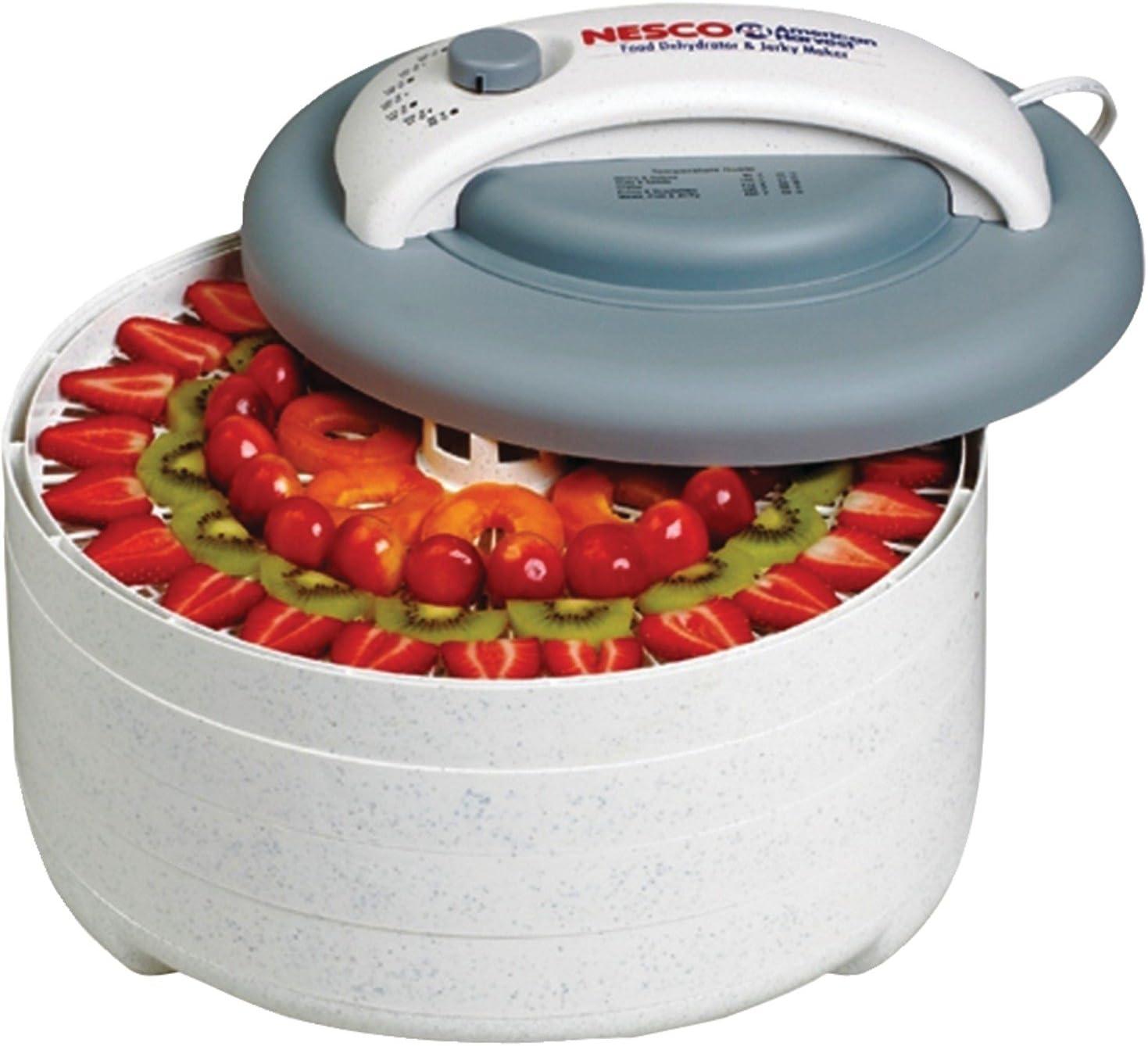 Nesco FD-61 Snackmaster Encore Four Tray Food Dehydrator