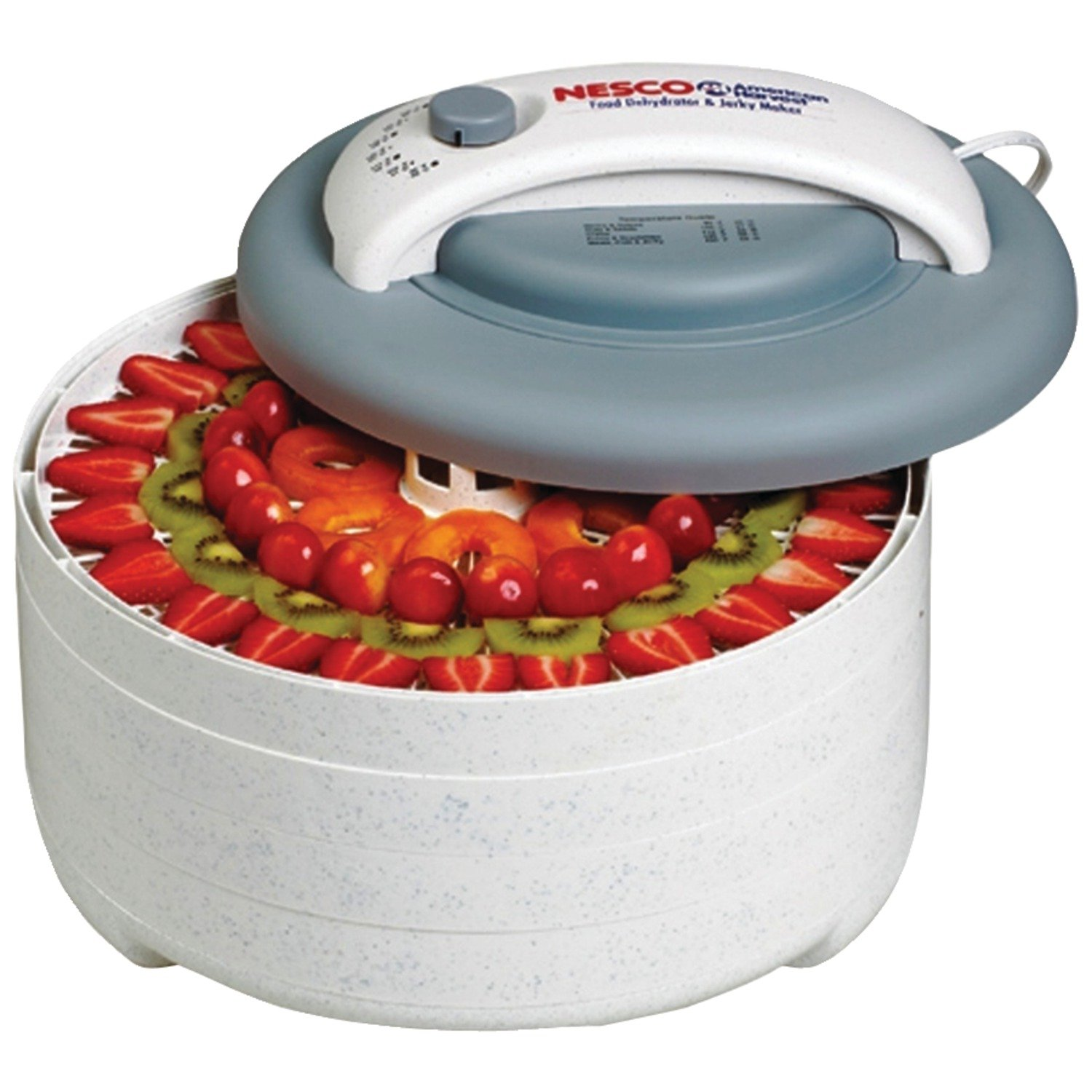 Nesco FD-61 Snackmaster Encore Four Tray Food Dehydrator