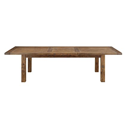 d1a6b54421021 Amazon.com - Emerald Home Chambers Creek Brown Dining Table with ...